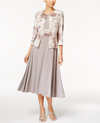 Jessica Howard Empire-Waist Dress and Printed Jacket $109 thestylecure.com