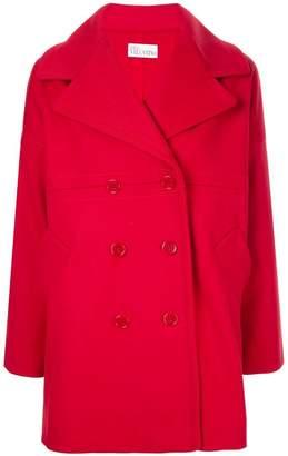 RED Valentino wide lapel coat