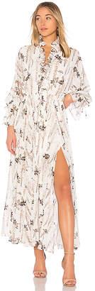 Shona Joy Bonaire Lace Up Maxi Dress