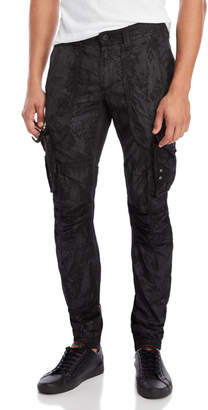PRPS Printed Cargo Joggers