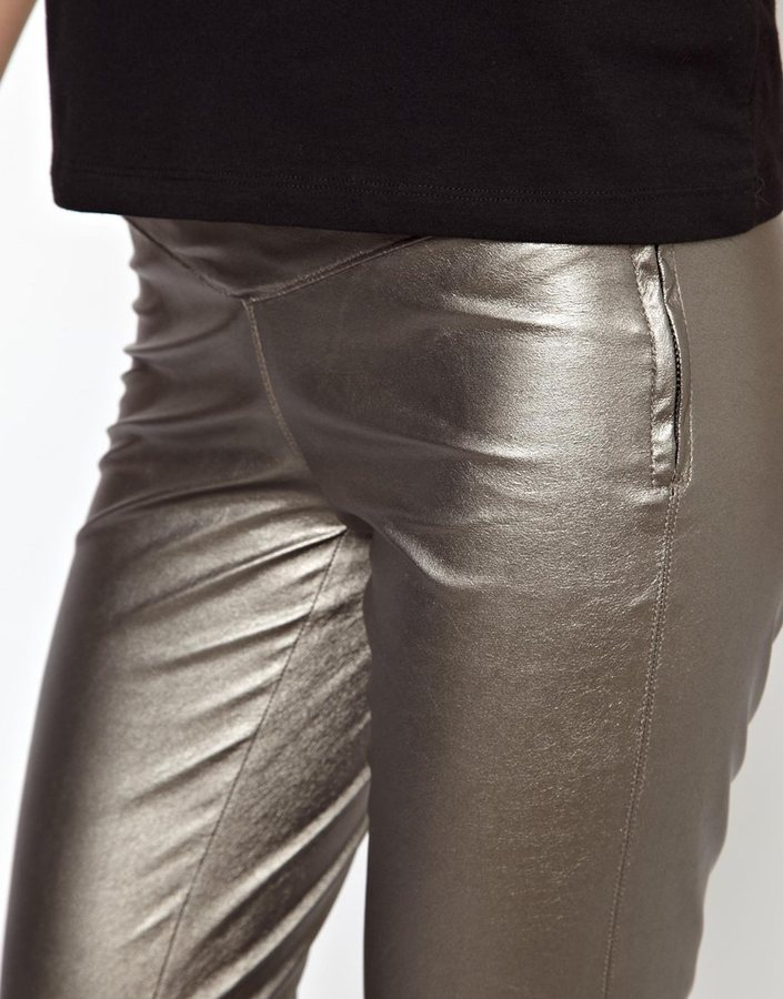 Blank NYC Leather Look Leggings