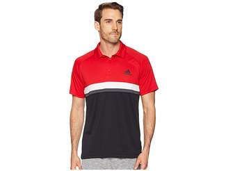 adidas Club Colorblock Polo Men's Short Sleeve Pullover