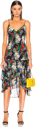 Marissa Webb Illana Silk Print Dress in Paisley Floral | FWRD