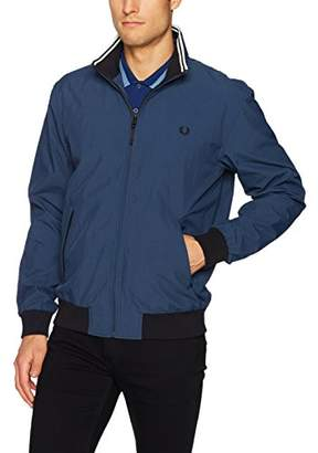 Fred Perry Men's Micro Dot Brentham Jacket