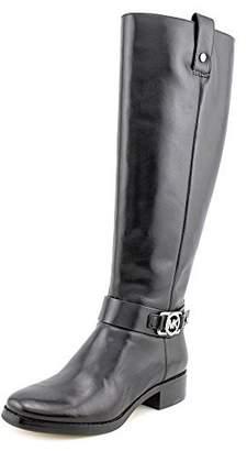 Michael Kors Womens Charm Riding Closed Toe Mid-Calf Rainboots