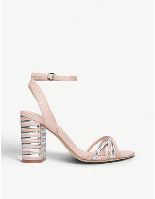 Aldo Taledia metallic-detail patent heeled sandals