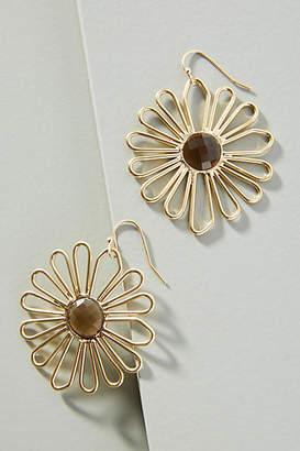 Anthropologie Daisy Drop Earrings