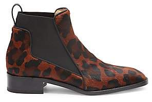 Christian Louboutin Women's Marmada Leopard-Print Calf Hair Chelsea Boots