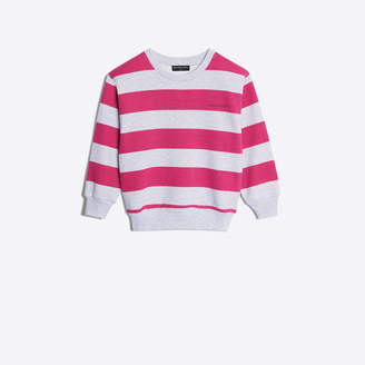 Balenciaga Stripes sweater with logo embroidered at chest and back