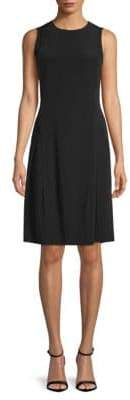 DKNY Sleeveless A-Line Dress