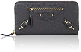 Balenciaga Women's Classic Zip-Around Continental Wallet