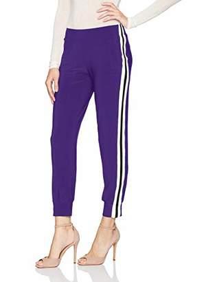 Norma Kamali Women's Side Stripe Jog Pant