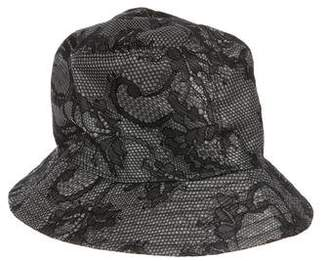 Valentino Lace Bucket Hat