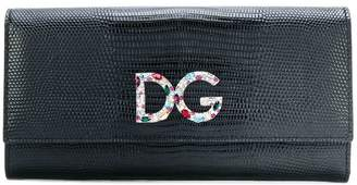 Dolce & Gabbana logo plaque flap purse