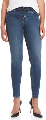 J Brand Maria Shadow Stripe High-Rise Skinny Jeans