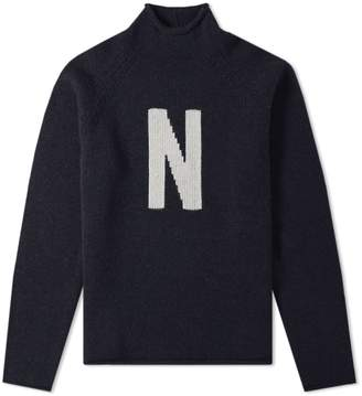 Norse Projects Thore N Intarsia Crew Knit