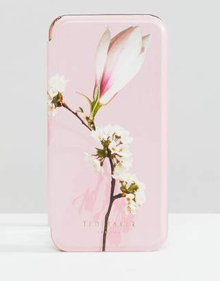 Ted Baker tablet iphone 8 mirror case in harmony floral