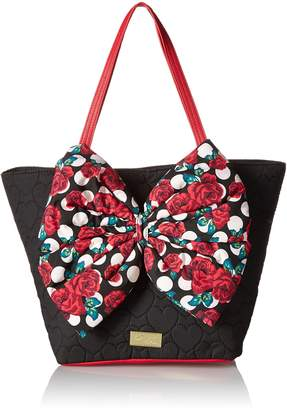 Betsey Johnson LUV BETSEY by with Bow Tote Bag