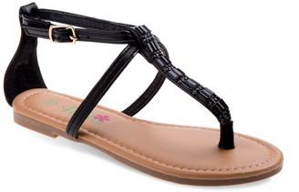 Petalia Jeweled Girls' Sandals