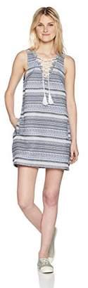 Jack by BB Dakota Junior's Amari Jacquard Dress with Tassel Ties