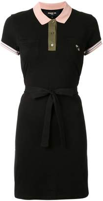 Paule Ka short-sleeve polo dress