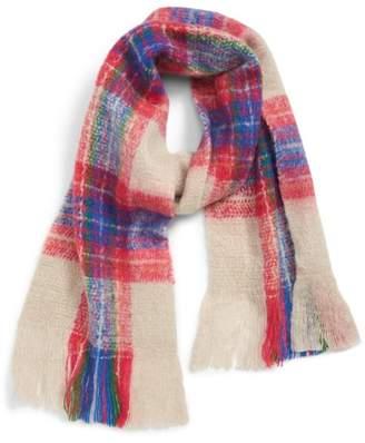 c7ecc88395d2d Gray Plaid Women's Scarves - ShopStyle
