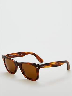 1dcd01b432 Ray-Ban Tortoise Frame Lens Rectangle Sunglasses - Brown