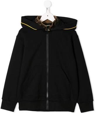 Fendi full-zipped hoodie