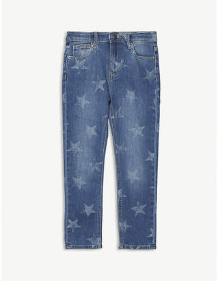 Tommy Hilfiger Faded star print denim jeans 6-16 years