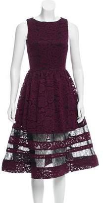 Alice + Olivia Lace Midi Dress w/ Tags
