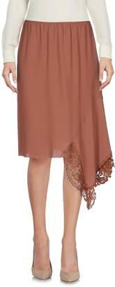 N°21 Ndegree 21 Knee length skirts