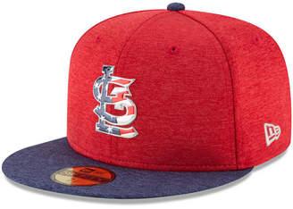 New Era Boys' St. Louis Cardinals Stars & Stripes 59FIFTY Cap