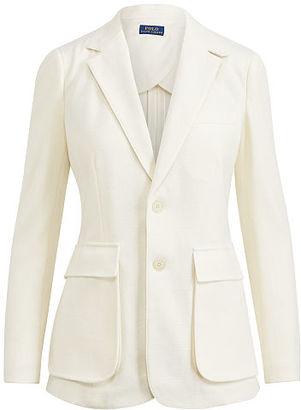 Polo Ralph Lauren Wool-Blend Blazer $398 thestylecure.com