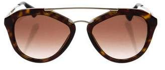 Prada Cinéma Saffiano Sunglasses