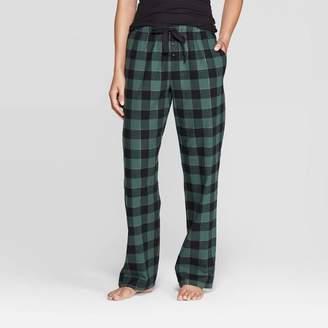Buffalo David Bitton Stars Above Women's Plaid Perfectly Cozy Flannel Pajama Pants - Stars Above Green