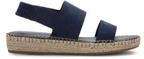 Cole Haan Cloudfeel Leather Espadrille Sandals