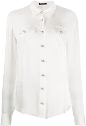 Balmain button-down tailored blouse