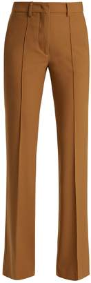 Etro Veronica stretch-wool kick-flare trousers