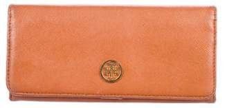 Tory Burch Leather Robinson Wallet