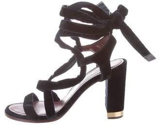Nina Ricci Multi-strap Round-Toe Sandal