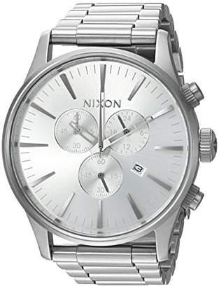 Nixon Men's 'Sentry Chrono' Quartz Stainless Steel Casual Watch