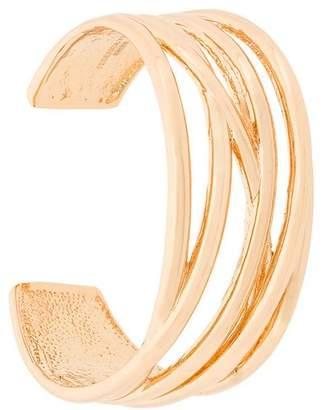 Federica Tosi multi-strand curved bangle
