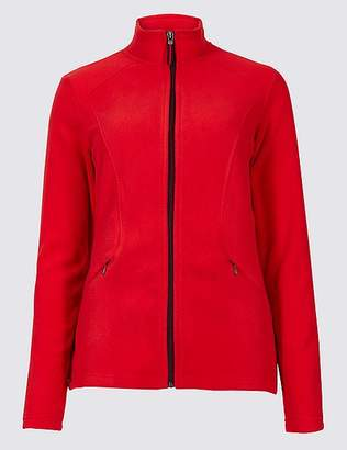 Marks and Spencer Panelled Fleece Jacket