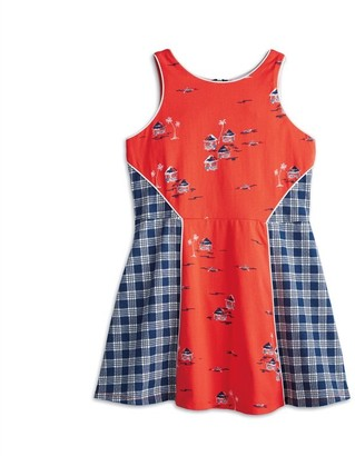 American Girl Hawaiian Print Dress for Girls size 7