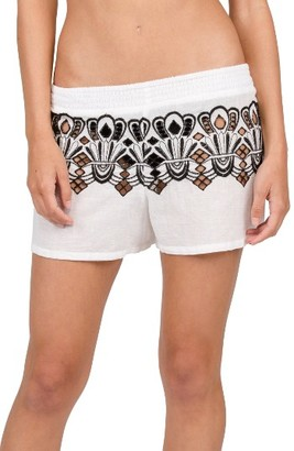 Women's Volcom Fronds Forever Shorts $40 thestylecure.com