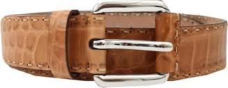 Michael Kors Hand Stitch Lance West Belt