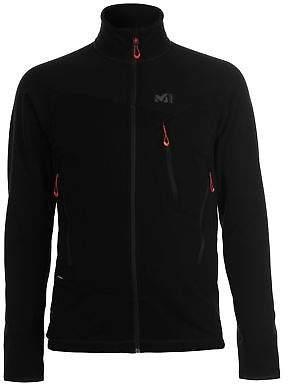 Millet Mens Grepon Power Jacket Full Zip Fleece Top Coat Sweatshirt Jumper Long