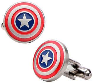 Marvel Comics Marvel Stainless Steel Captain America Logo Cuf