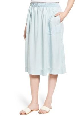Women's Caslon Midi Skirt $59 thestylecure.com
