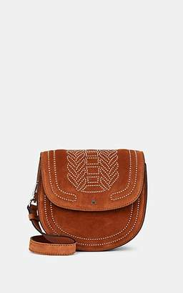 Altuzarra Women's Ghianda Small Suede Saddle Bag - Brown